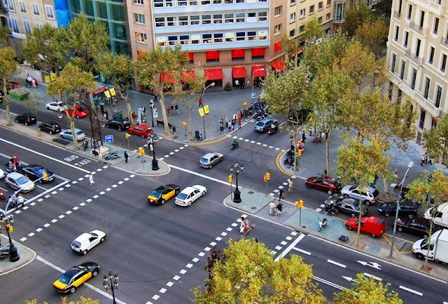 alugar um carro em Barcelona