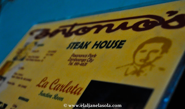 Zamboanga | Antonio's Steak House