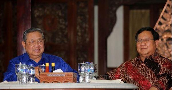 Ini Agenda Pertemuan SBY-Prabowo di Mega Kuningan, Diplomasi Nasgor Jilid Dua