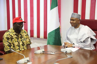 NLC leaders meet National Assembly leaders