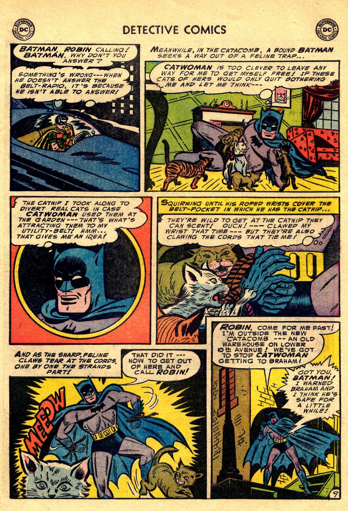 Read online Detective Comics (1937) comic -  Issue #203 - 11