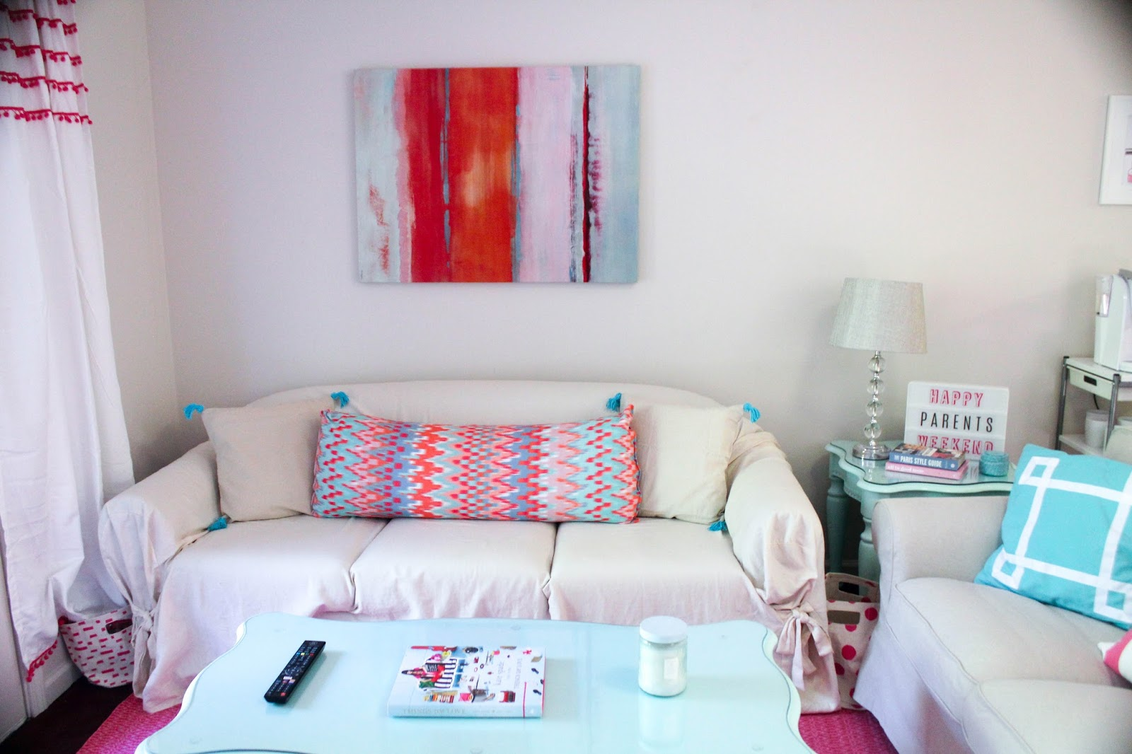 Prep In Your Step: Apartment Tour Week: Living Room