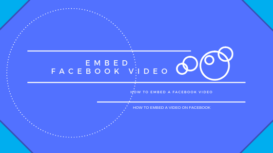 How To Embed A Facebook Video<br/>