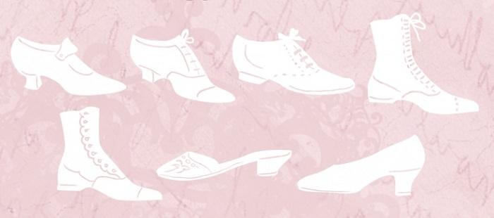 stivali stile vittoriano