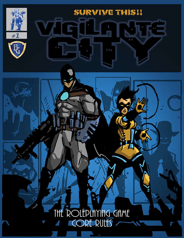Halls of the Nephilim: SURVIVE THIS!! Vigilante City Core