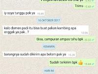 Pengiriman SOC HCS Terkirim SUKSES Labuhan Maringgai, Lampung Timur Lewat JNE