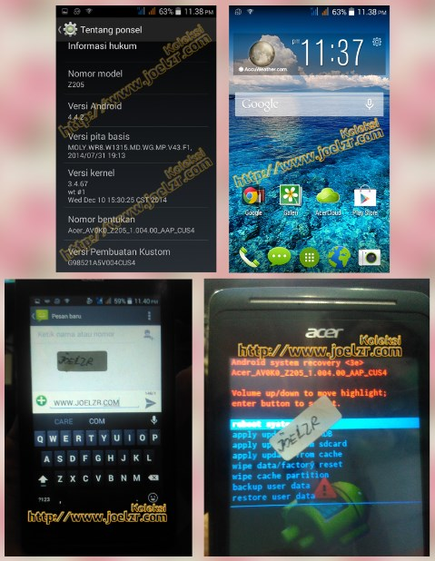 Firmware Android Tested