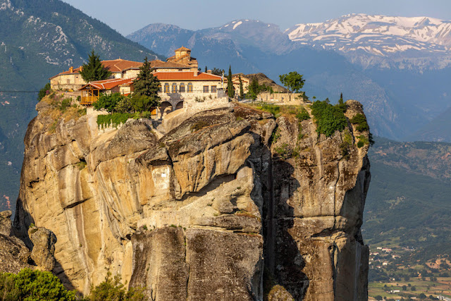 The Holy Trinity Monastery in Meteora, Greece