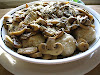 Ricotta Dumplings In Mushroom Sauce