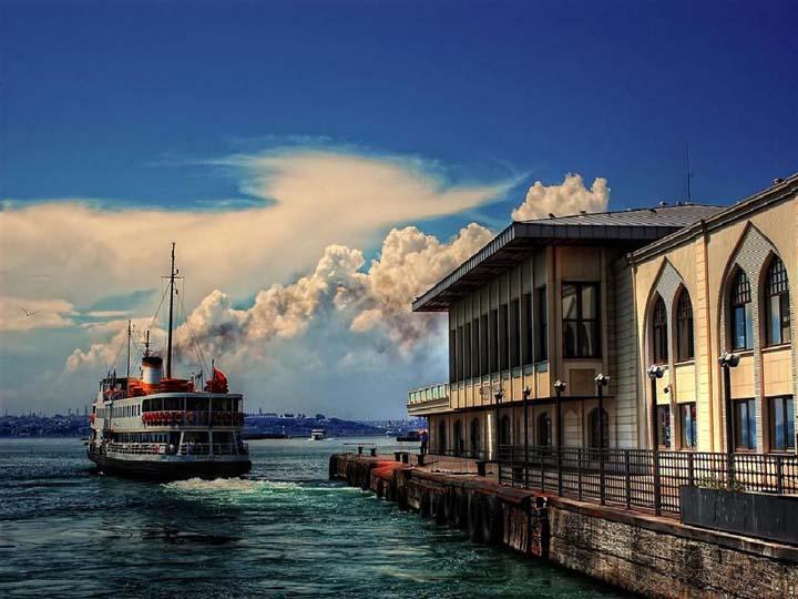 istanbul manzara resimleri