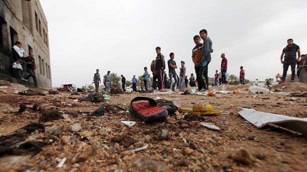 Video: BOM Meledak Pada Gelaran Sepakbola di Irak