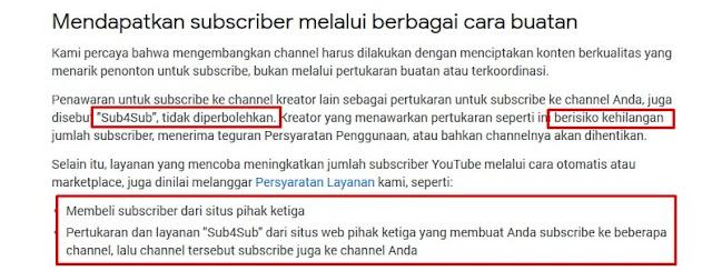 Kebijakan dan Pedoman Komunitas YouTube