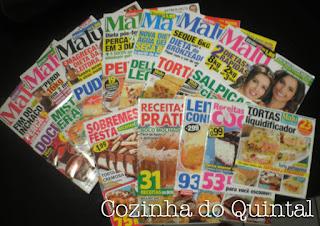 Revista Malu na Cozinha do Quintal