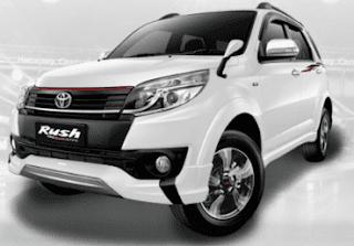 Harga Toyota Rush Baru Januari 2018