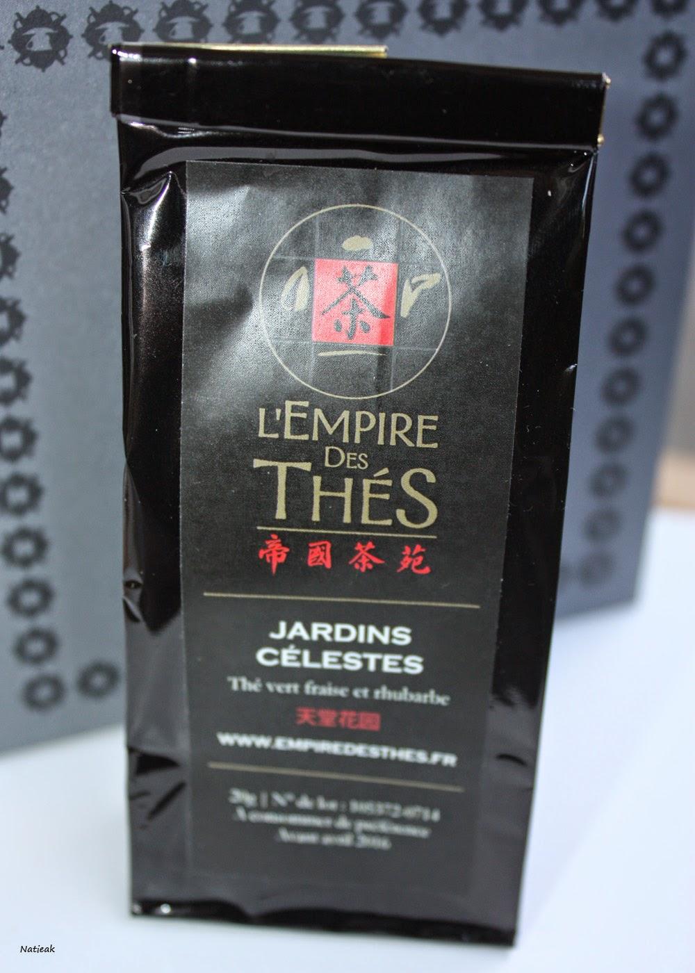 Jardin célestes de l'Empire des thés