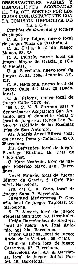 Recorte de Mundo Deportivo de 1 de noviembre de 1957