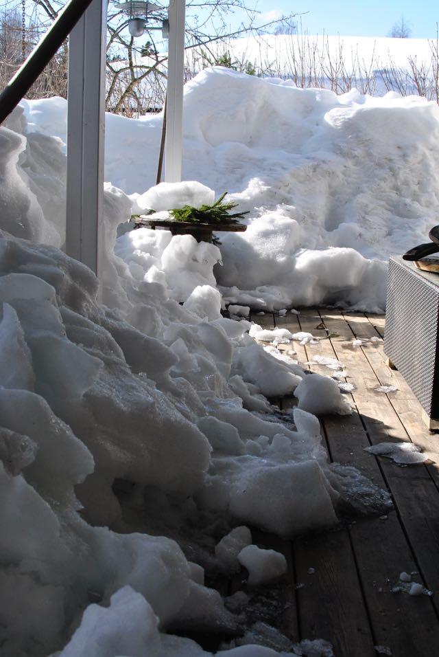 hannashantverk snö mars vår
