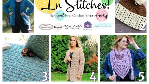 Best Free Crochet Patterns - In Stitches Link Up Party Week #21