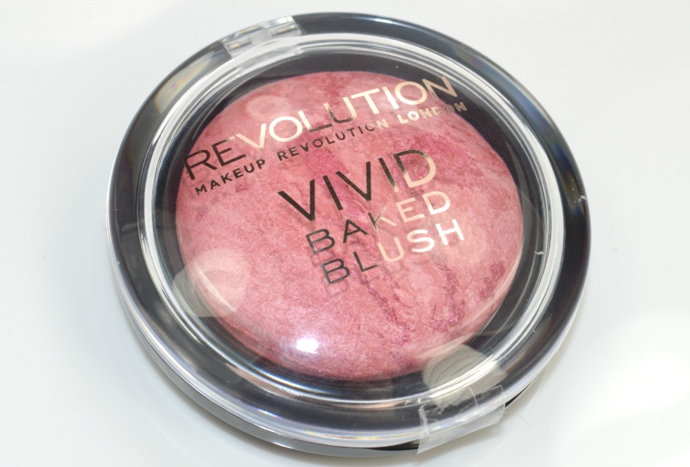 Makeup Revolution Vivid Baked Blusher in Loved Me The Best Review / Swatches