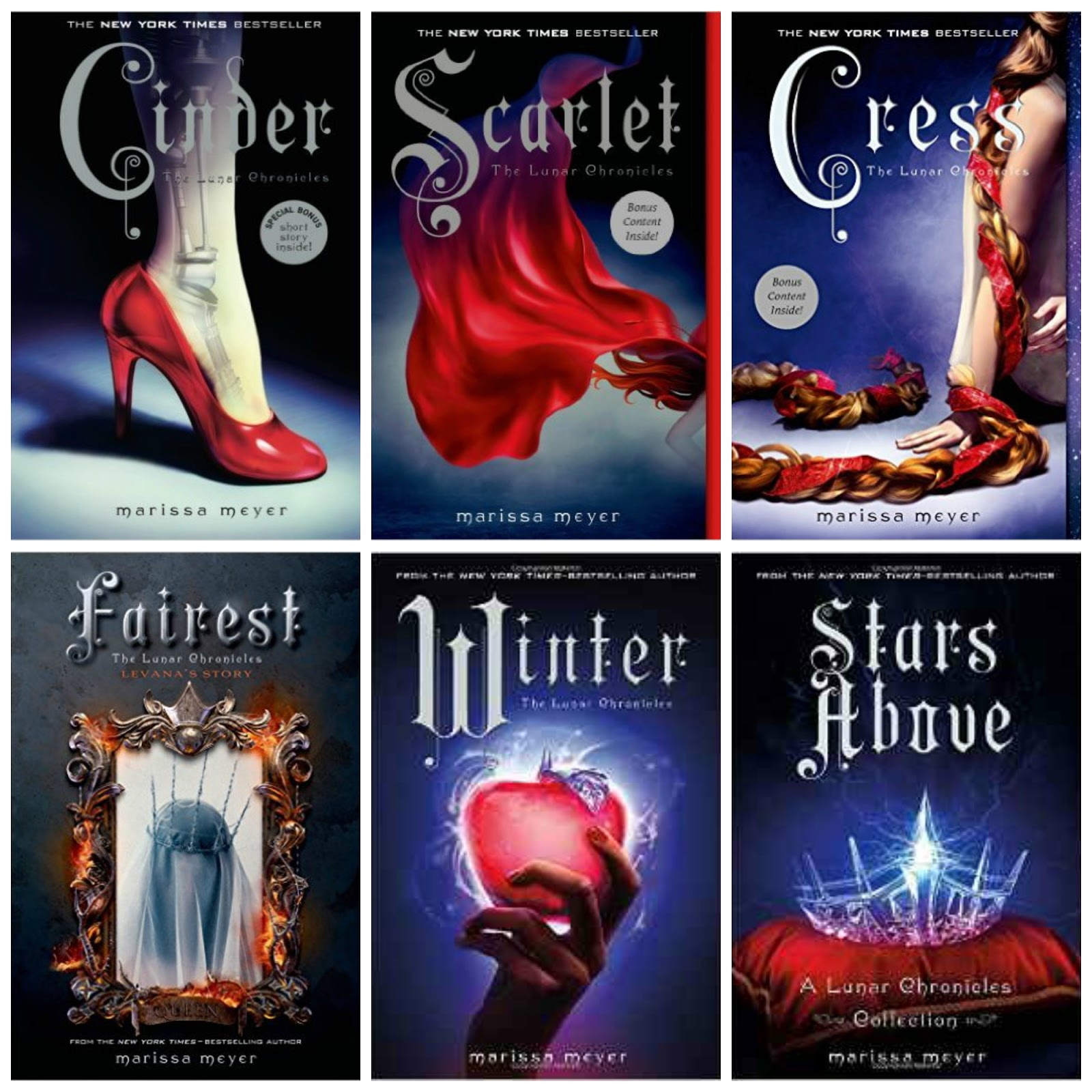 Jactionary: The Lunar Chronicles Series by Marissa Meyer