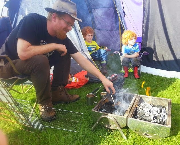Camping at Tatton Park with Campertronic 2014