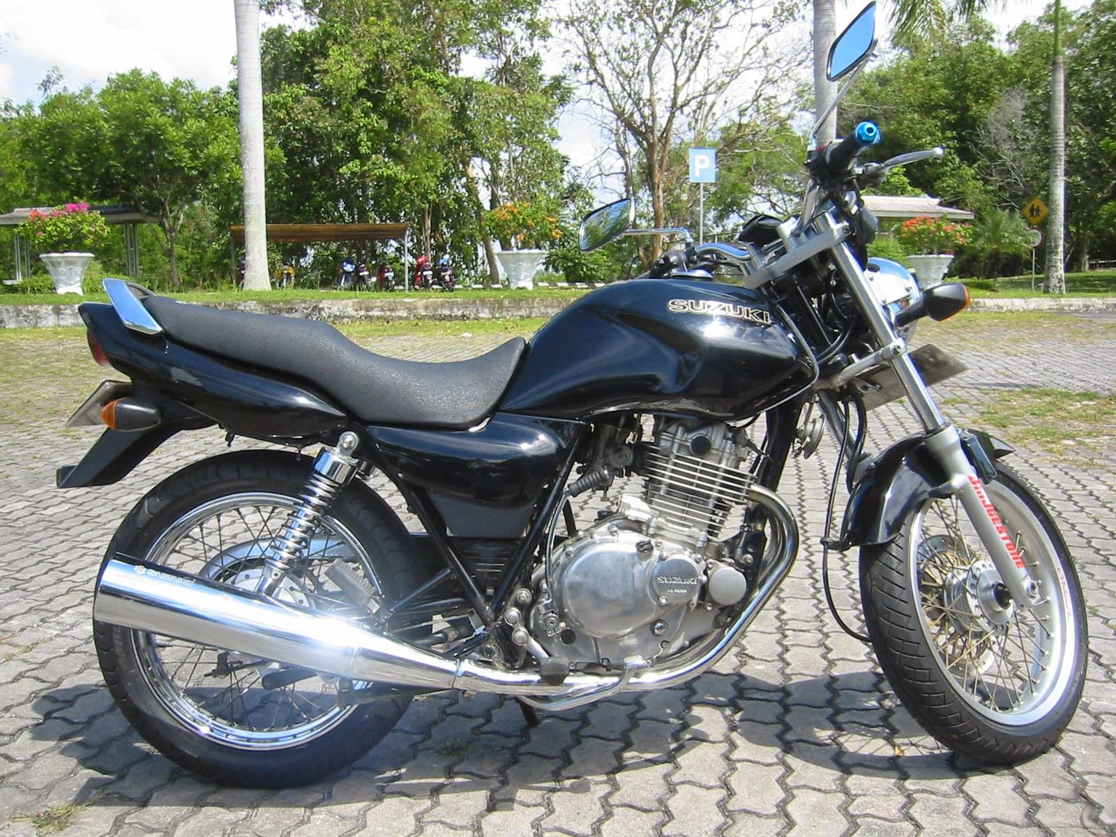 Modifikasi Motor Suzuki Thunder 250cc