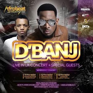 D Banj UK Tour