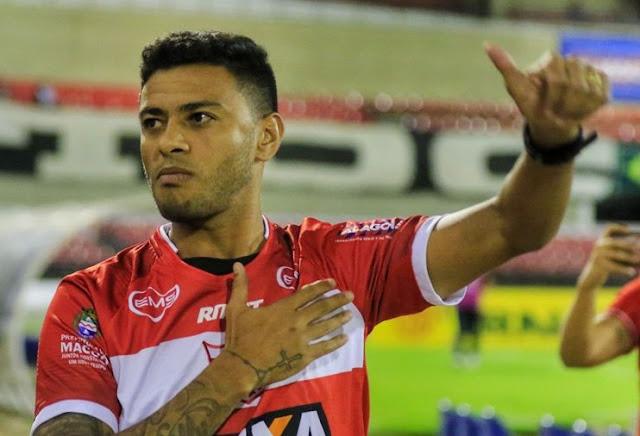 Taperense  Cleiton Xavier retorna a Alagoas para jogar no CRB
