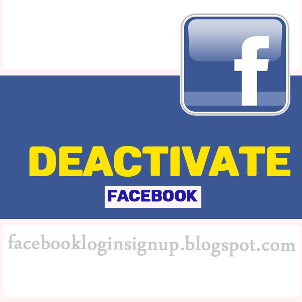 You deactivated your Facebook account