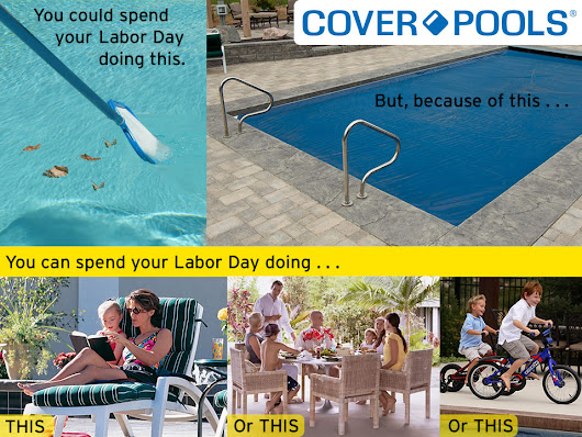 Cover-Pools Saves Time on Labor Day