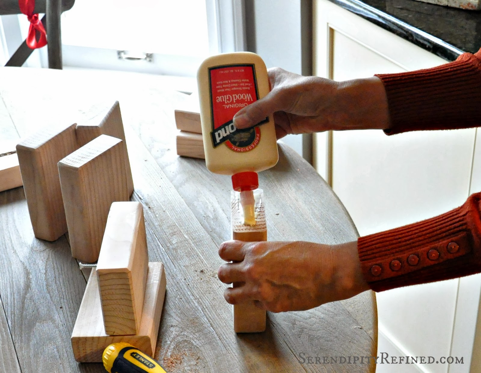 Serendipity Refined Blog: How to Make Easy Wooden ...