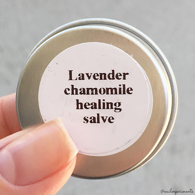 my indie polish lavender chamomile salve