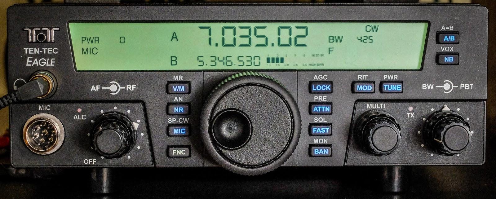 Ham Radio - QRP: My TenTec Eagle sounds better than my