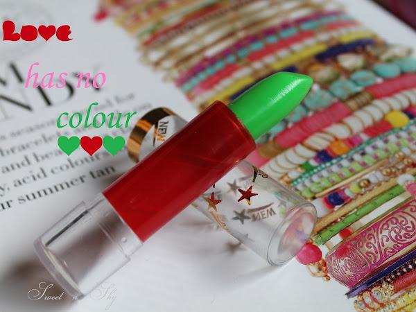 Love has no colour-lipstick fun!