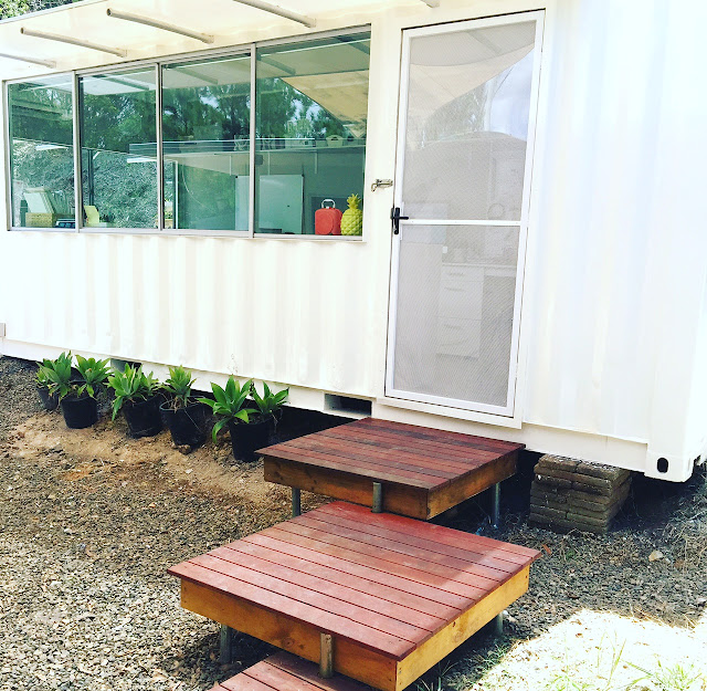 Converted Shipping Container