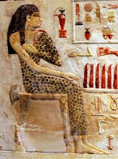 Slab stela of Old Kingdom Egyptian princess Neferetiabet (dated 2590-2565 BC)