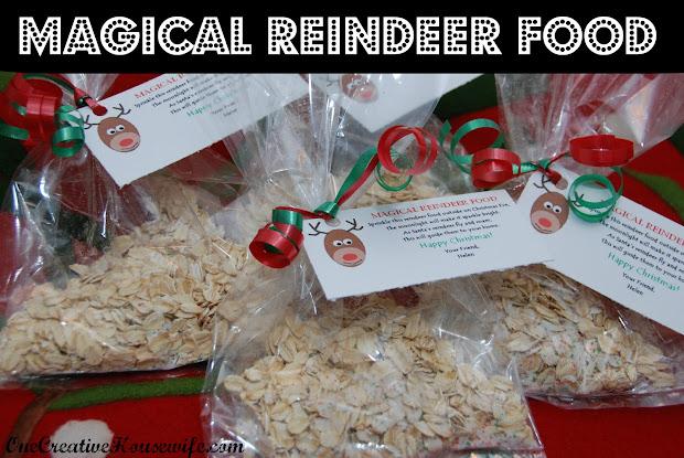 Cute Reindeer Food Saying Imgurl