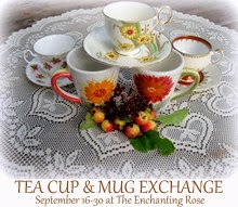I'm Participating in a Tea Cup & Mug Exchange