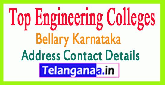 Top Engineering Colleges in Bellary Karnataka