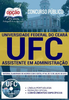 Download Apostila Concurso UFC 2018 PDF