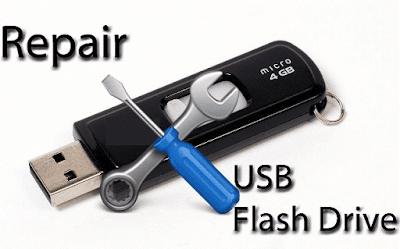 Cara Mudah Memperbaiki Flashdisk yang Rusak