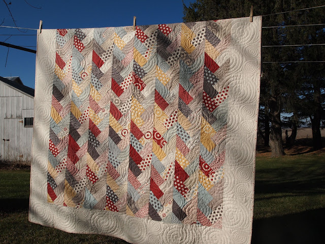 Craft Room Confidential Friendship Braid Quilt Front