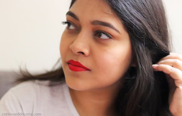 Pure Color Envy Paint On Liquid Lipcolor in Poppy Sauvage review, Poppy Savuge review, Poppy Sauvage swatch, Estee Lauder Poppy Sauvage