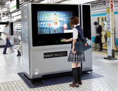 máy bán hàn tự động tại Nhật