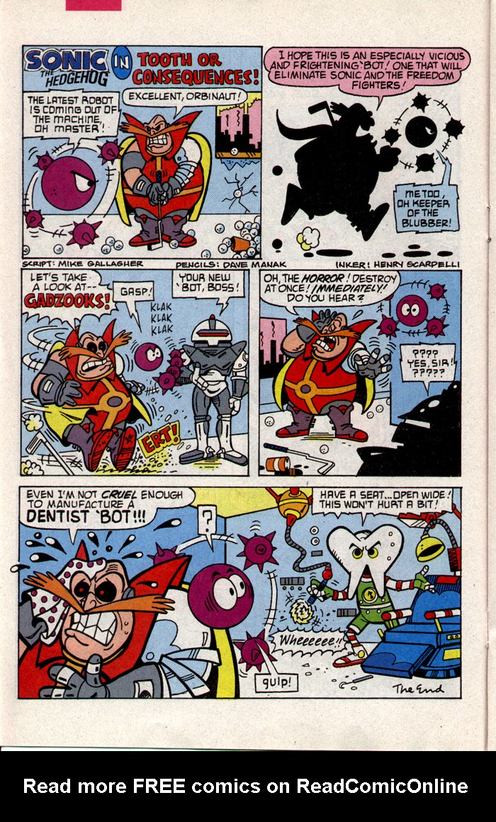 Read online Sonic The Hedgehog comic -  Issue #9 - 13