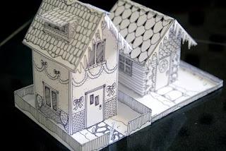 Mel Stampz: Wee Houses (124 links: templates, tutorials, etc )