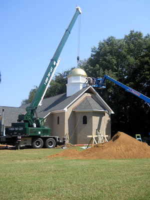 Orthodox Church with dome in Jackson, TN