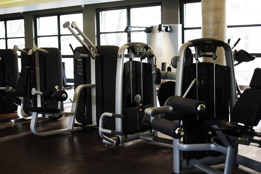 fitness studio geräte bereich