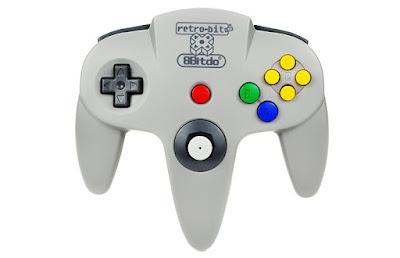 Mando de N64 con el que podrás jugar en cualquier PC o móvil