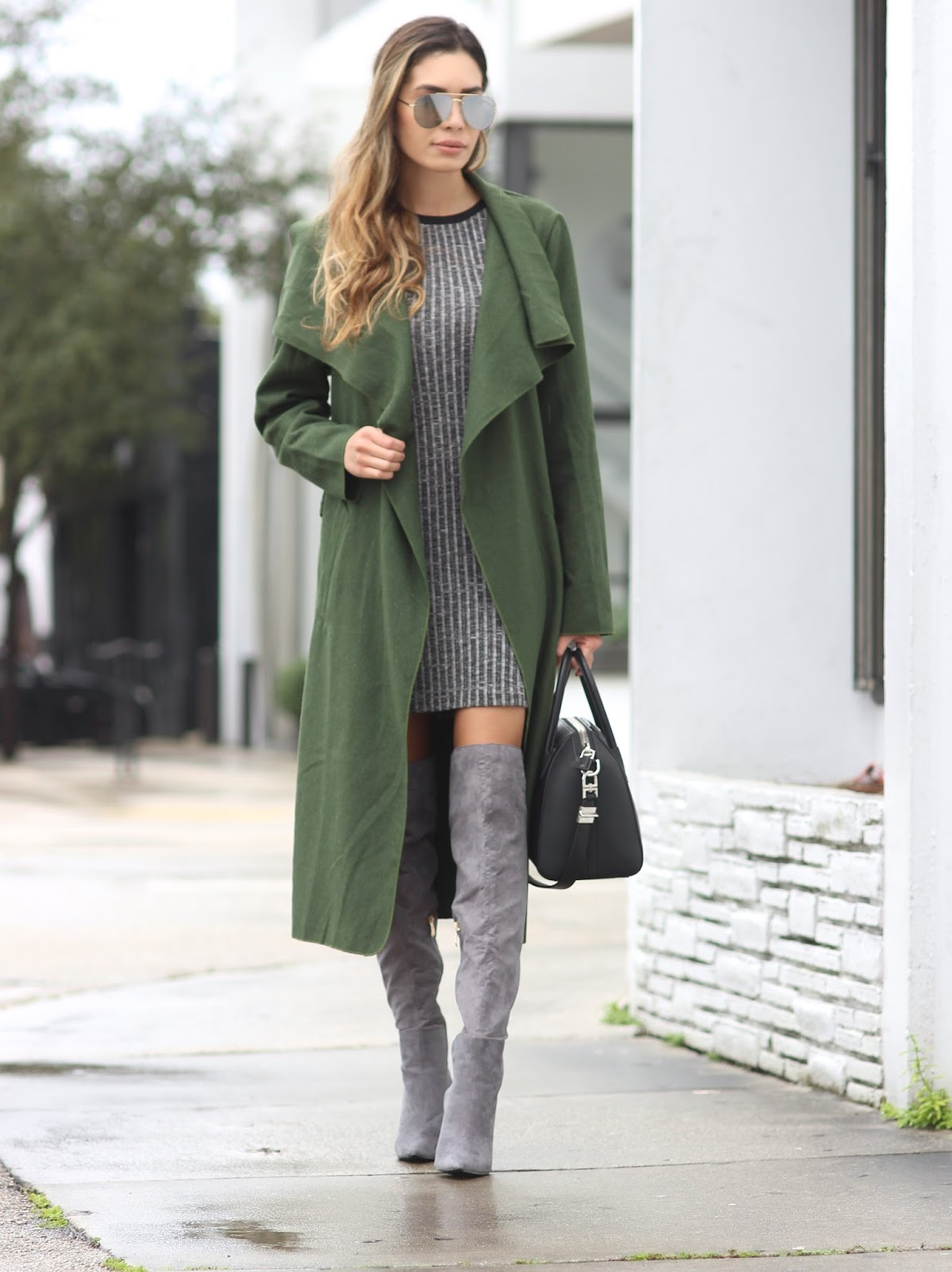 Jasmine tosh lately olive green x grey - Olive green and grey ...